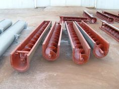 Screw Conveyor ideal for conveyance each free-flowing and sticky materials of comparable particle size. Screw Conveyors employed in several industries together with cement, chemical, food, mining and waste treatment industries for conveyance and elevating bulk materials.