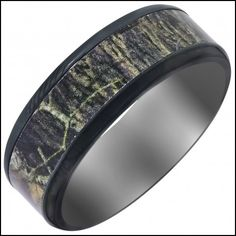 4 Colors His And Hers Camo Wedding Rings Set Camouflage Engagement