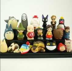 Ghibli toy collection