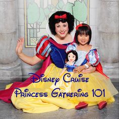 Survival Guide to Disney Cruise Princess Gathering! Disney Dream Cruise- Cinderella, Snow White, Belle, Tiana, Ariel, and Aurora