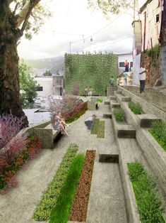 Posts about Landscape Architecture written by urbanlandarchitect Landscape And Urbanism, Urban Landscape, Landscape Design, Garden Design, Poket Park, Pocket Garden, Linear Park, Urban Intervention, Urban Park