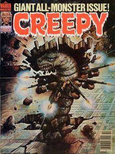 Cover for Creepy (Warren, 1964 series) #102 October 1978