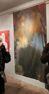 Jenna Marttila, Mistä unet tulevat, painted fabric, 2017 Fabric Painting, Life, Art, Painting On Fabric, Art Background, Kunst, Performing Arts