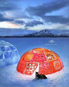 New home idea: an Hermès igloo