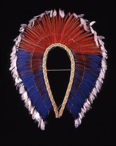 headdress frame - 89-1-6C | Penn Museum Collections