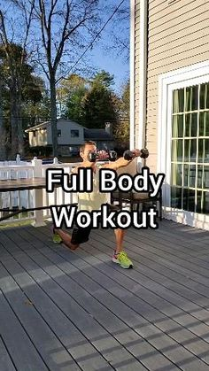 Workout Pics, Full Body Hiit Workout, Dumbbell Workout, Fit Board Workouts, Workout Videos, At Home Workout Plan, At Home Workouts, Fitness Nutrition, Fitness Tips