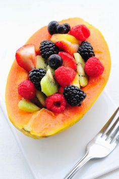 Papaya Fruit Salad + 3 Years of Blogging | Simply Gourmet