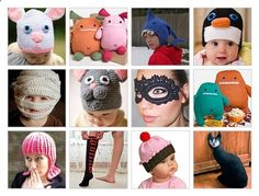 Come celebrate a knit  crochet Halloween with us! Discover cute, cool, and crazy ideas for costumes and gifts for your favorite kidsand for you.