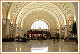 Union Station, DC (lots of great shopping and restaurants) and of course, AMTRAK