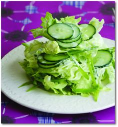 Your Home and Lifestyle Magazine Recipe | Iceberg Salad with Herbed Buttermilk Dressing