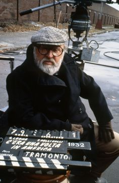 Sergio Leone: The Good, The Bad, And The Ugly, A Fistfull of Dollars, Once Upon A Time In The West