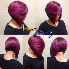 Fantastic Plum Bob @hairbymarsay - http://community.blackhairinformation.com/hairstyle-gallery/short-haircuts/fantastic-plum-bob-hairbymarsay/