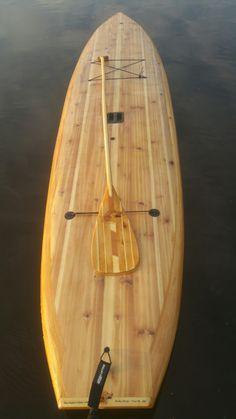 Paddle sesh, anyone? DIY wood kits available at Wood Surfboard Supply