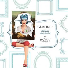 The Artist Plate Collection moyou.co.uk | info@moyoumarketing.com #nailart #moyoulondon #stamping #pinup #manicure #manicura #art #artist #cute #kawaii #girly #mondrian #neoplasticismo #neoplasticism #DeStijl #abstract