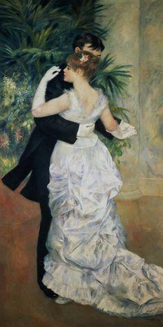 "PierreAugusteRenoir (1841/1919) ""danza in città"""