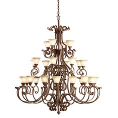 Larissa Grande Chandelier By Kichler Cabin Style Homes, Lodge Style, Large Foyer Chandeliers, Foyer Decorating, Light Fixtures, Ceiling Lights, Rustic, Lighting, Home Decor