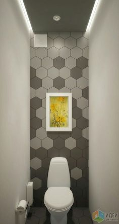Small toilet 4 Pleasing Simple Ideas: Bathroom Remodel Spa Benjamin Moore bathroom remodel before an Bathroom Interior, Modern Bathroom, Bathroom Remodeling, Bathroom Grey, Hall Bathroom, Remodeling Ideas, Inexpensive Bathroom Remodel, Small Space Bathroom, Small Spaces
