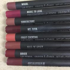 "MAC Junkies ️️ on Instagram: ""Lip Pencils gives you the perfect finish  image via @cainhelen"""
