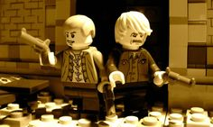 Butch Cassidy and the Sundance Kid in lego!