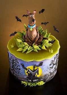 Scooby snacks! by Mladman Cakes - Cake Wrecks - Home - Sunday Sweets: 12 Cakes To Make You Feel Like A Kid Again