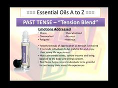 Past Tense ~ To explore and purchase essential oils visit: https://www.mydoterra.com/sarajanelle/#/ or on Facebook https://www.facebook.com/doterrasarajanelle/