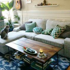 Customer photo | Comfort Works custom made Kivik Sofa Bed in Nomad Grey fabric