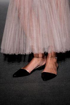 wholesale dealer 78db0 54e4b Chanel Couture, Mode Över 40, Högtidsskor, Mode Detaljer, Skor, Platta Skor
