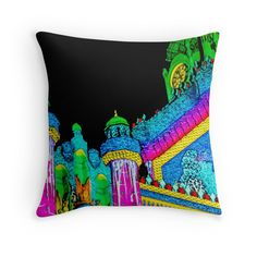 """""""The Forum"""" Throw Pillows by darkydoors 
