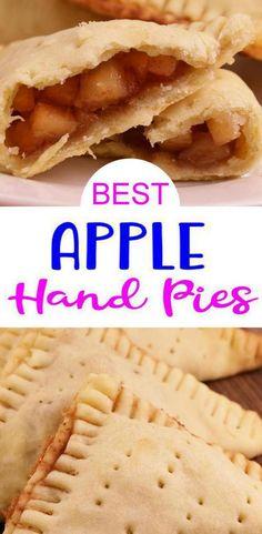 Quick Apple Pie Recipe, Apple Recipes Easy, Quick Dessert Recipes, Homemade Apple Pies, Brunch Recipes, Baking Recipes, Easy Apple Crumble, Apple Crisp, Apple Hand Pies
