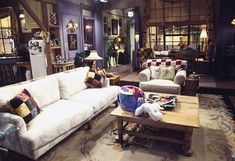 Decoração De TV Apartamento de Monica Geller Friends