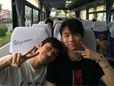 """yuzusorbet: """" From Oda-san: Yuzu could not participate in this year's Fantasy On Ice and I miss him, but there is happy news that he is back to training! Sendai, Miyagi, Ice Skating, Figure Skating, Male Figure Skaters, Yuzuru Hanyu, Japanese Figure Skater, Shoma Uno, Weights"""