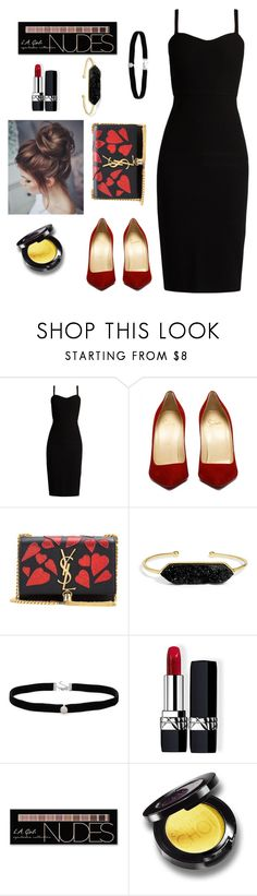 """Cute fashion"" by kristinas-l ❤ liked on Polyvore featuring MaxMara, Yves Saint Laurent, BaubleBar, Amanda Rose Collection, Christian Dior and Charlotte Russe"