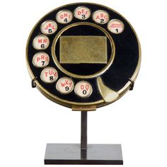 Iconic Salvador Dali / Elsa Schiaparelli Telephone Compact, 1935