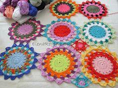 ElenaRegina wool: Maglia color parte 2