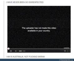 Aye, Australia sometimes has that problem. Repin if you're Aussie and you've been hit by something like that.