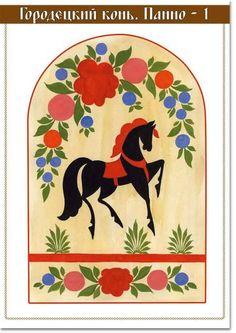 Gorodetsky horse
