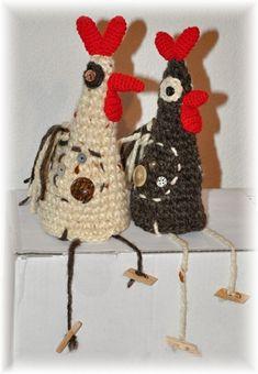 HÁČKOVANÉ SLEPIČKY - NÁVOD dekorace dárek velikonoce slepice popis návod pro radost kohoutek velikonoční dekorace slepičky slípky háčkovaná slepička háčkovaná slepice Elsa, Crochet Hats, Easter, Christmas Ornaments, Holiday Decor, Hens, Tejido, Crochet Cow, Hobbies