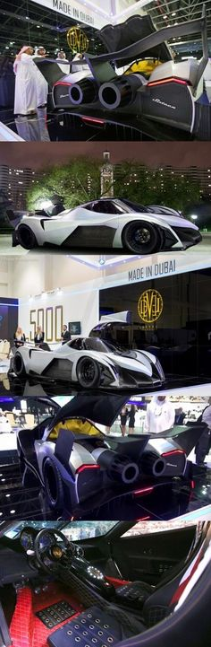 Devel Sixteen Hyper-Claims 5,000HP, 0-100 KM/H in 1.8 Seconds and 560km/h