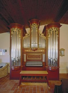 Delley-Portalban/Portalban, Orgue de Salon L. F. Tagliavini – organ index, die freie Orgeldatenbank