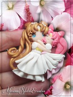 Princess serenity and small lady chibiusa by ~DarkettinaMarienne on deviantART