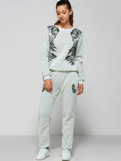 GET $50 NOW   Join Zaful: Get YOUR $50 NOW!http://m.zaful.com/wings-print-sweatsuit-p_230072.html?seid=2295437zf230072