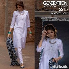 Generation Summer Dresses 2015. Pakistani fashion.