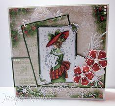 LOTV - Christmas Girls Edwardian by Jacqui Dennis