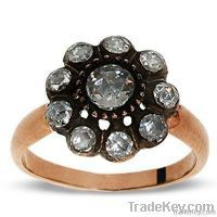 Turkish Rings Istanbul Jewelry 925silver Gold Ottoman Jewellery Design