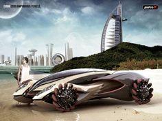 Amphi-X Un véhicule amphibie de luxe