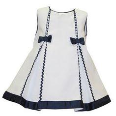 vestidomarinero niña | Vestido Marinero Dos Lazos BAYÓN