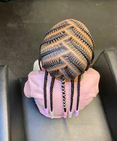 Black Little Girl Hairstyles, Black Kids Braids Hairstyles, Faux Locs Hairstyles, Baby Girl Hairstyles, Braids For Short Hair, Natural Hair Braids, Natural Hair Styles, Hair Inc, Braids For Boys