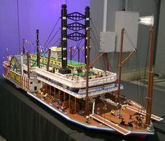 KLIKK, Mark Twain steamship at LEGO KidsFest Prague -...