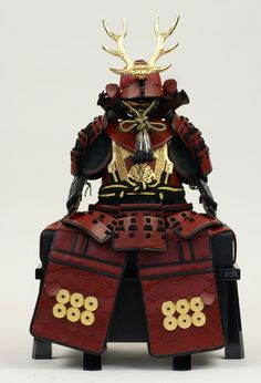 The Kimono Gallery Kabuto Samurai, Samurai Helmet, Samurai Weapons, Samurai Armor, Arm Armor, Ancient Armor, Japanese Warrior, Art Japonais, Japan Art