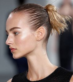 The perfect 3rd day hairstyle.